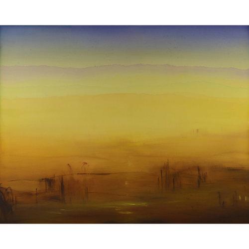 Composition N。12-04-17 2017 130 x 195 cm Acrylic on canvas