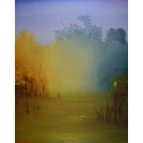 Extase N。26-03-16 2016 162 x 130 cm Acrylic on canvas