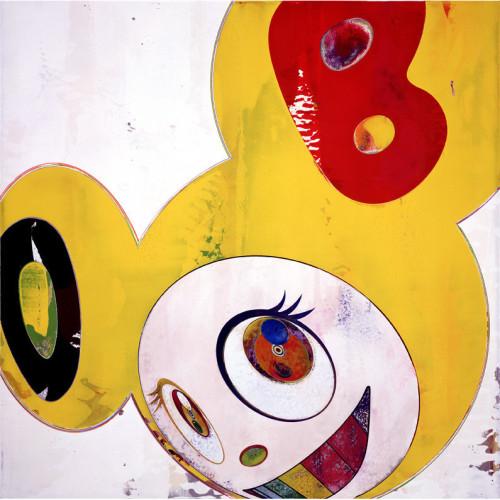 And Then And Then And Then And Then Yellow Jelly 2006 50 cm x 50 cm Offset lithograph