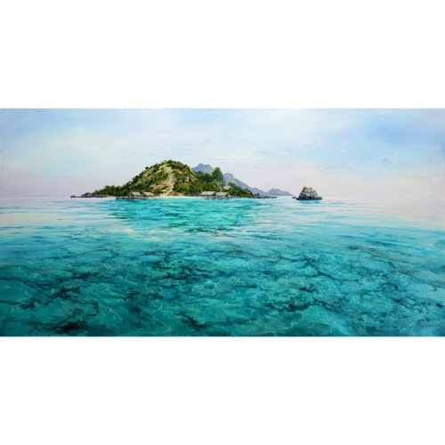 Papua 2018 110 x 220 cm Acrylic on canvas