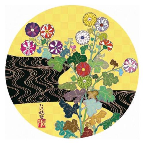 Kansei Korin Gold 2010 diameter 71 cm  Offset Print Edition of 300