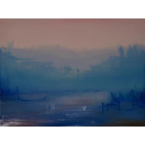 Composition N。19-05-17 2017  97 x 130 cm Acrylic on canvas
