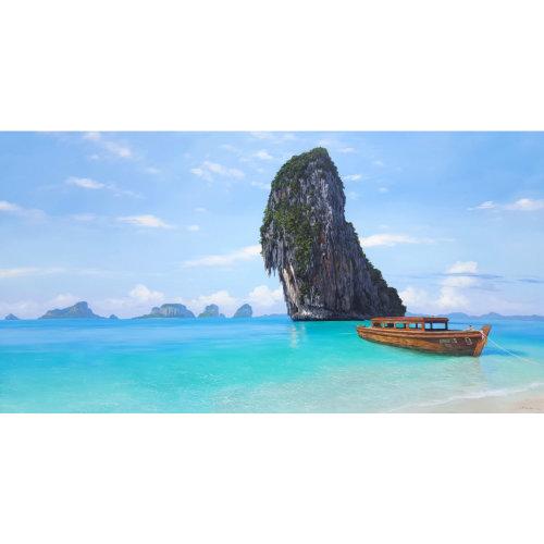 Koh Phranang 2016 120x 235 cm Acrylic on canvas